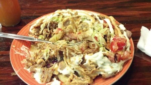 Mmm... doner kebab.
