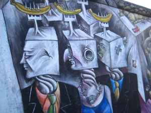 Another snapshot of the East Side Gallery.