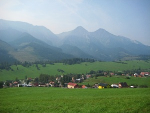 Zdiar and the Tatra Mountains