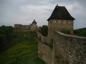 Helfstyn castle walls