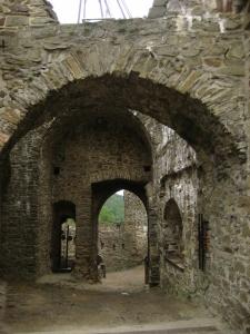 Archways of Helfstyn castle