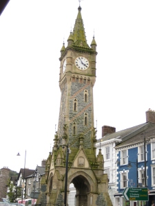 Machynlleth's clock tower