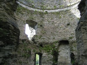Inside of the keep