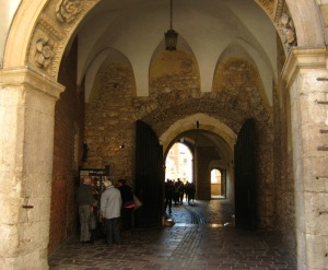 inside Wawel Castle