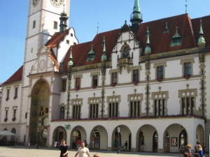 Olomouc town hall and Astronomical Clock
