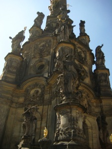Close up of the Holy Trinity Column