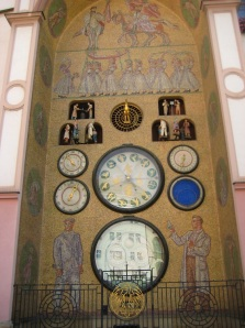 Close up of the Astronomical Clock