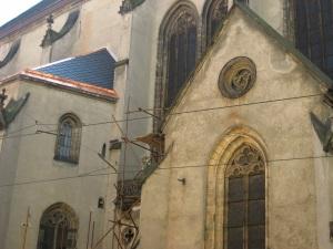 The oldest church in Olomouc