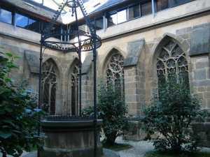 Courtyard of the Bishop's Palace