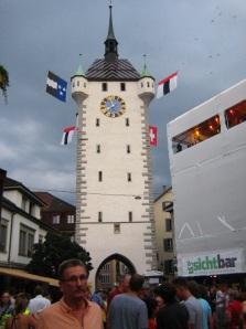 Baden clock tower