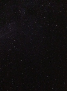 Cedric's photo of the stars.