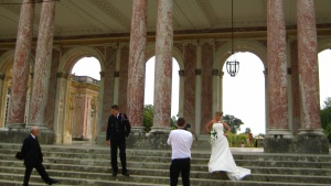 Wedding photos at Versailles